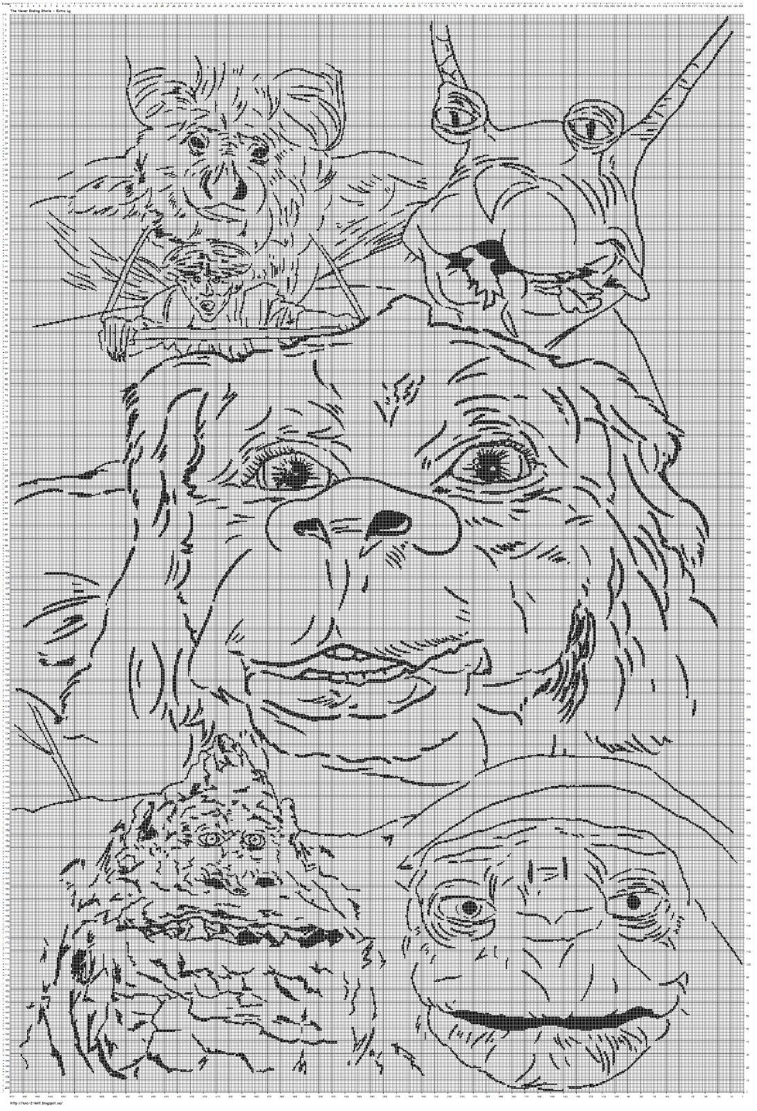 Neverending Story coloring #6, Download drawings