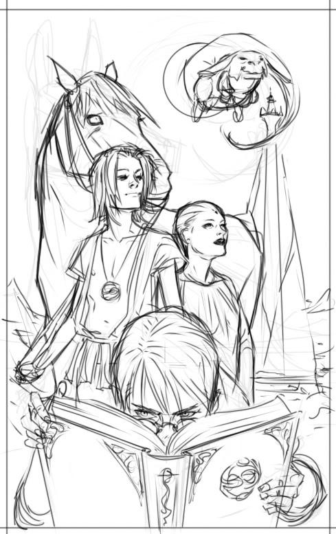 Neverending Story coloring #19, Download drawings