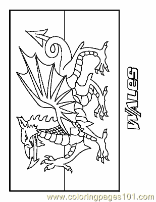 South Wales coloring #8, Download drawings