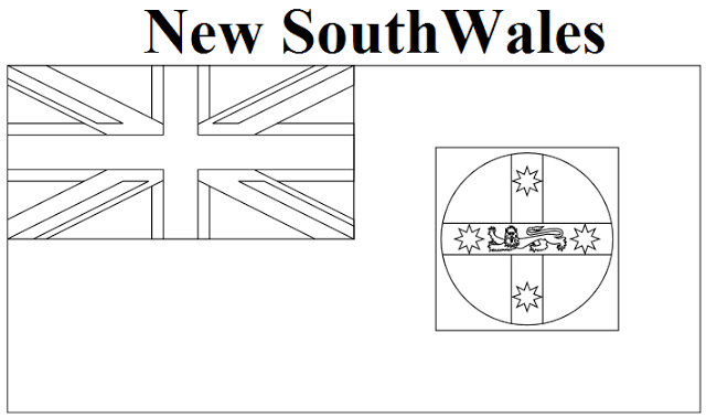 New South Wales coloring #15, Download drawings