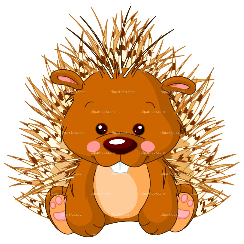 New World Porcupine clipart #4, Download drawings