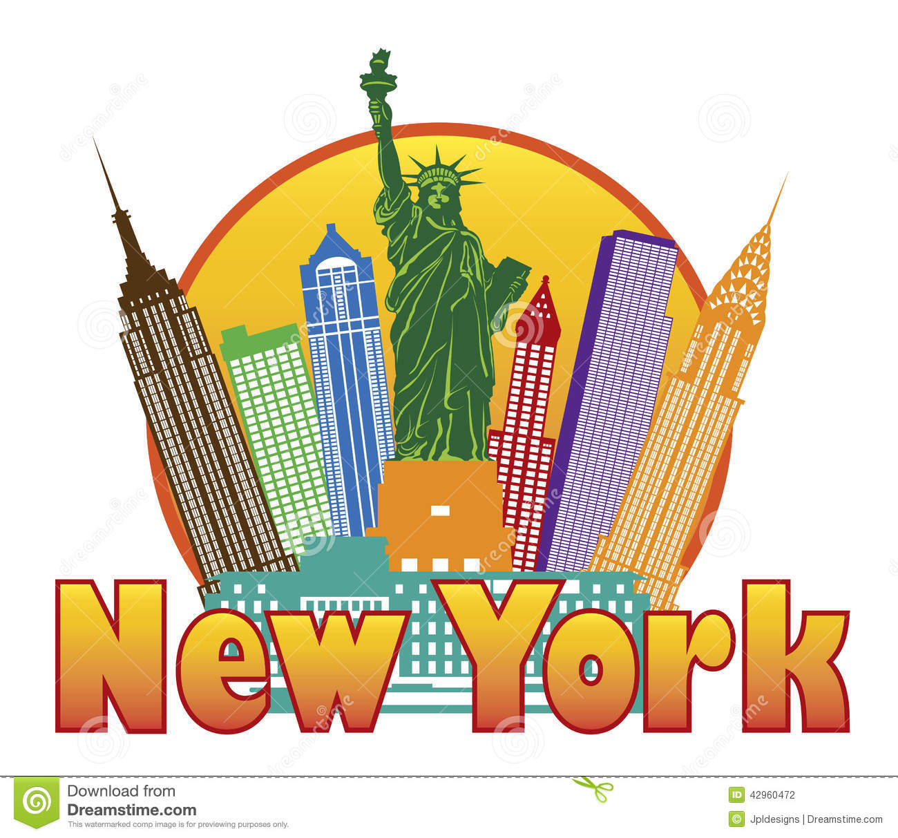 New York clipart #3, Download drawings