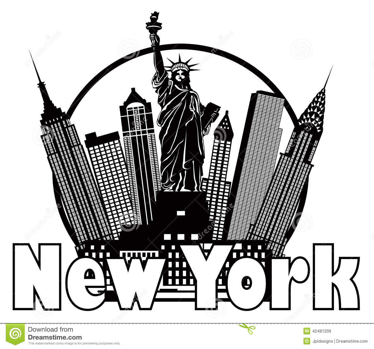 New York clipart #10, Download drawings