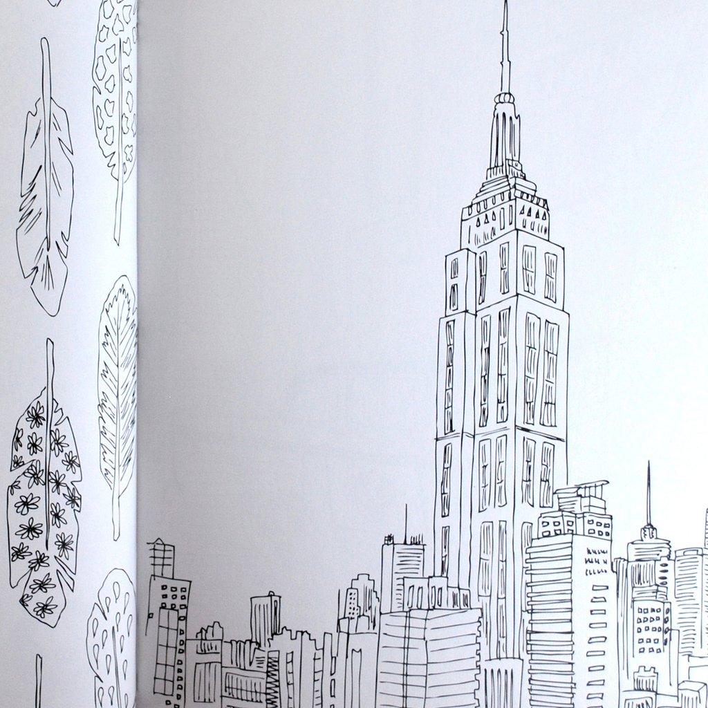 New York coloring #11, Download drawings