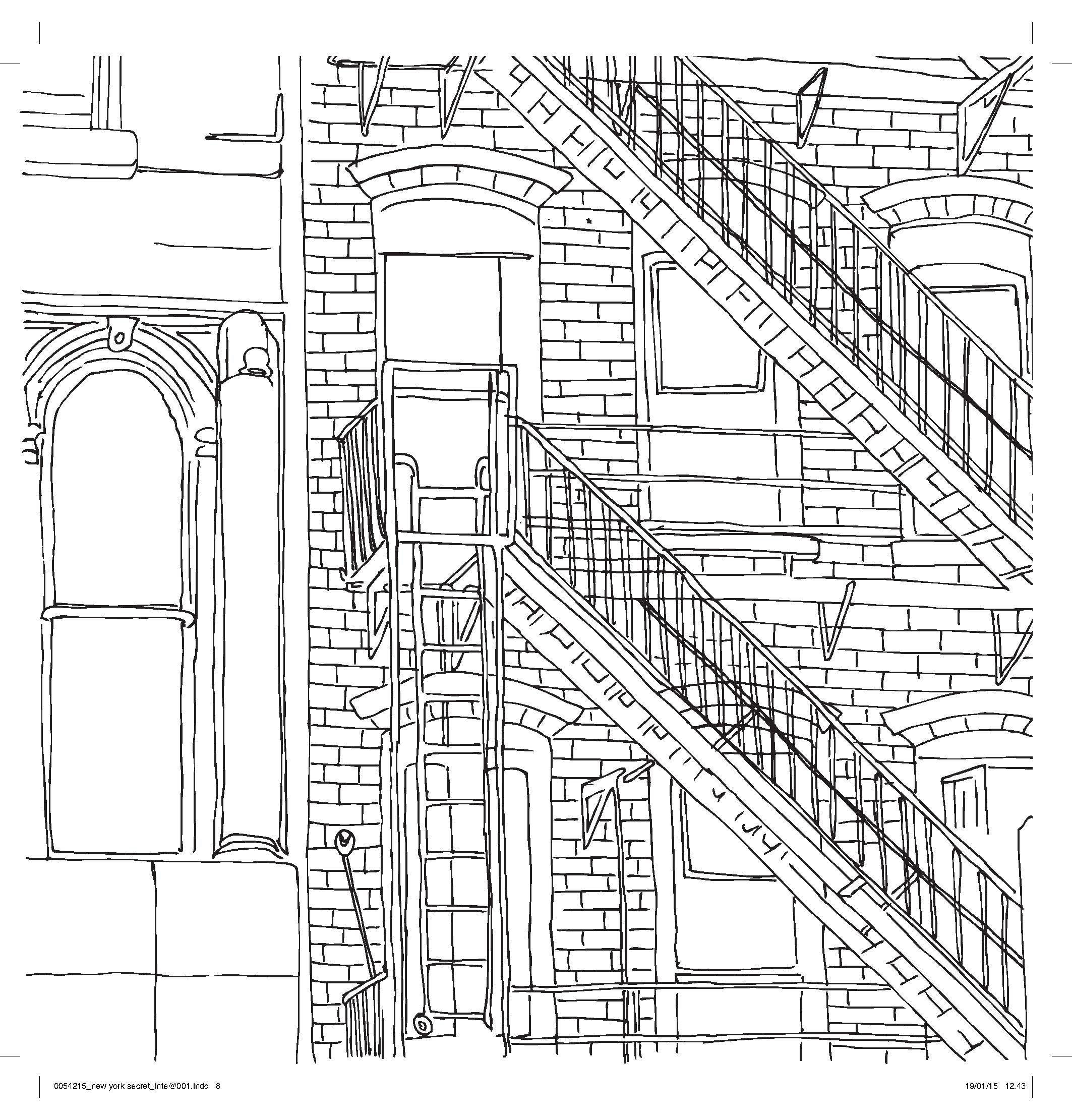 New York coloring #16, Download drawings