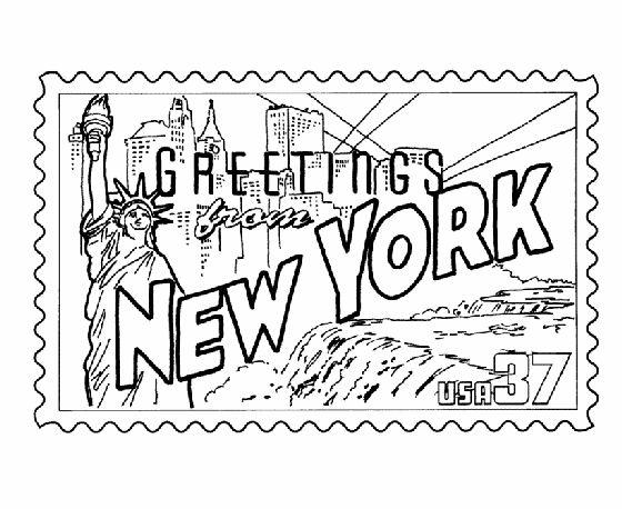New York coloring #19, Download drawings