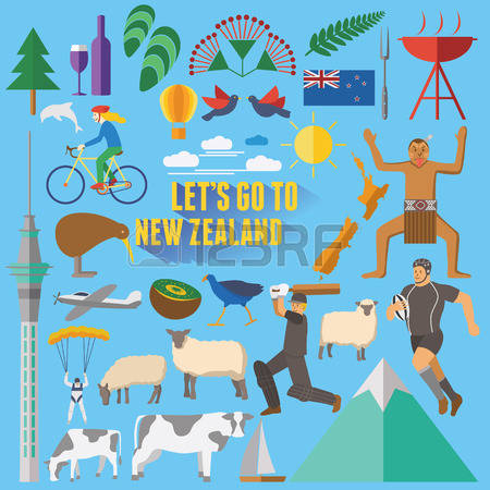 New Zealand clipart #13, Download drawings