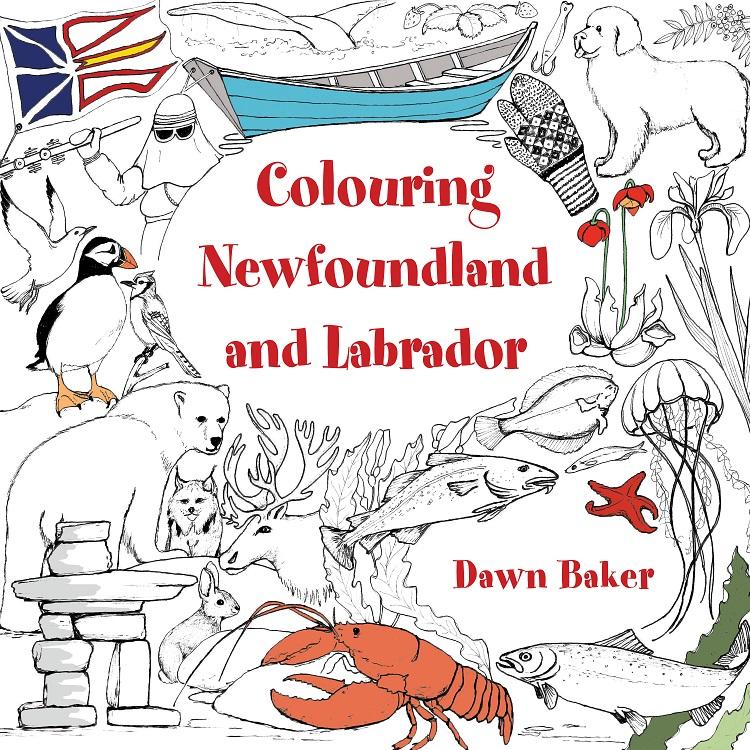 Newfoundland coloring #3, Download drawings