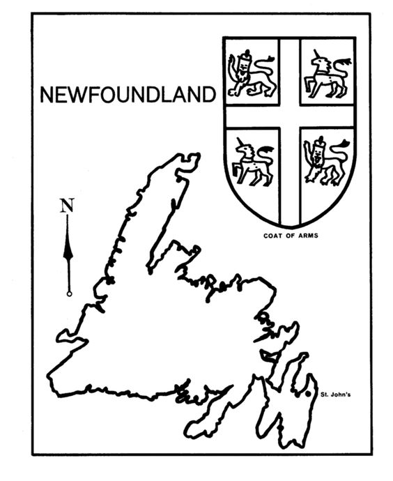Newfoundland coloring #4, Download drawings