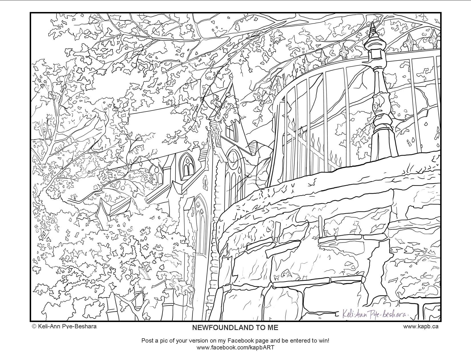 Newfoundland coloring #11, Download drawings