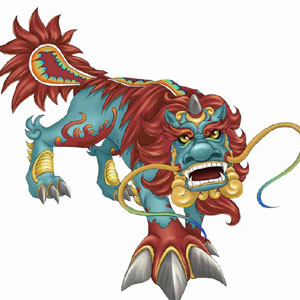 Nian Monster clipart #2, Download drawings