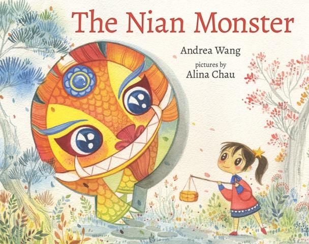 Nian Monster coloring #8, Download drawings