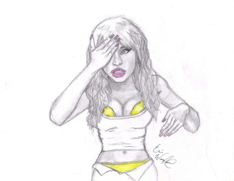 Nicki Minaj coloring #5, Download drawings