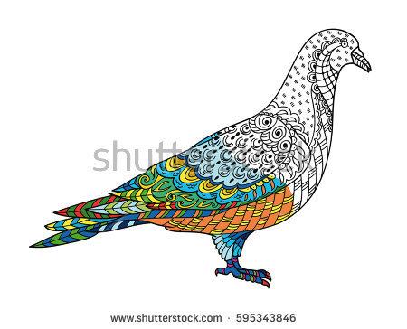 Nicobar Pigeon coloring #14, Download drawings