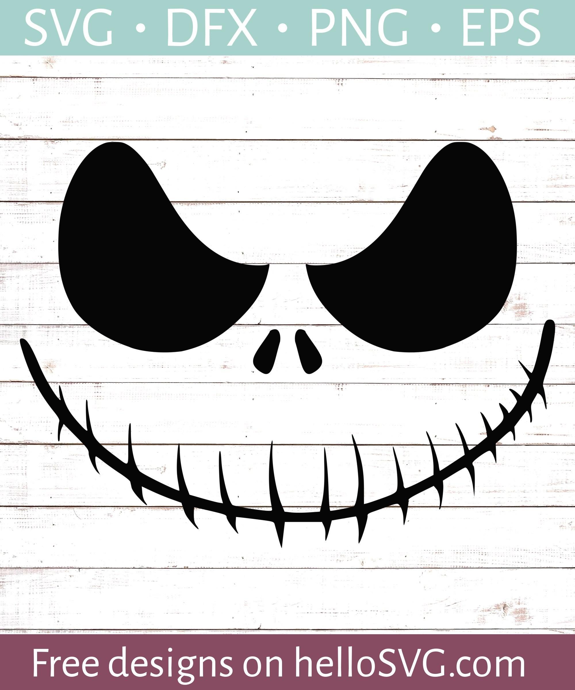 jack skellington face svg #1103, Download drawings