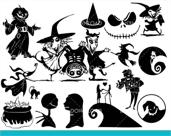 nightmare before christmas svg free #515, Download drawings