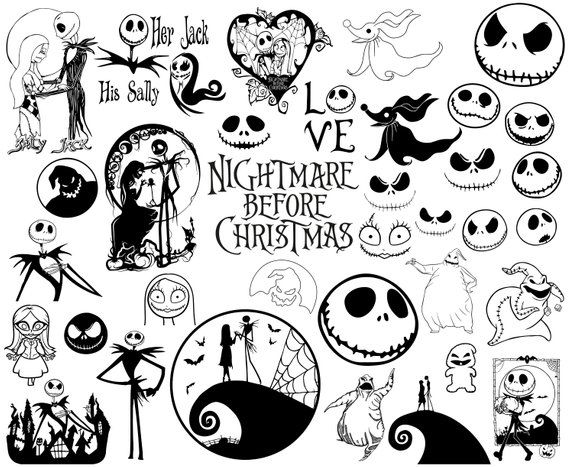 nightmare before christmas svg free #514, Download drawings