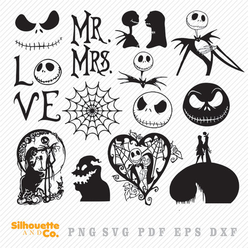 nightmare before christmas svg free #512, Download drawings