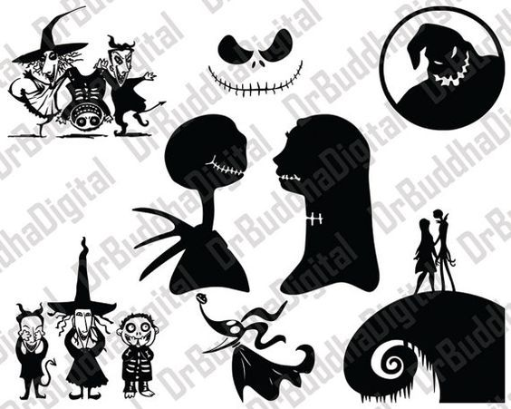 nightmare before christmas svg free #521, Download drawings