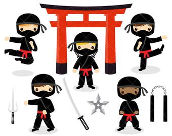 Ninja clipart #4, Download drawings
