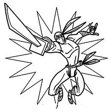 Ninja coloring #8, Download drawings