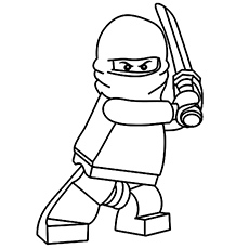 Ninja Mask Coloring Coloring Pages