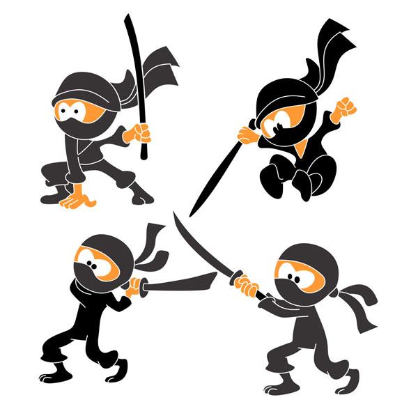 Ninja svg #4, Download drawings