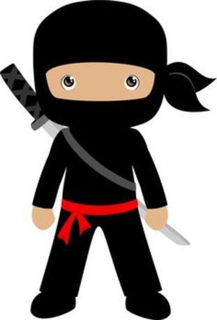 Ninjas clipart #1, Download drawings