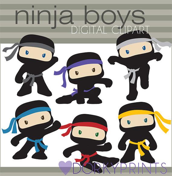 Ninjas clipart #6, Download drawings