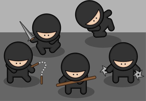 Ninjas clipart #19, Download drawings