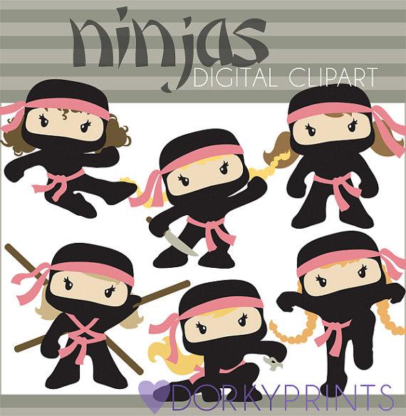 Ninjas clipart #3, Download drawings