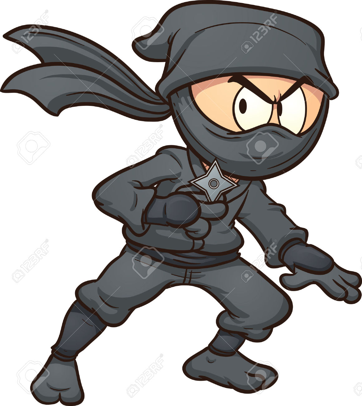 Ninjas clipart #2, Download drawings