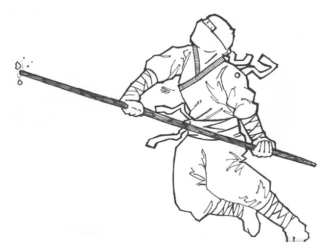 Ninjas coloring #4, Download drawings