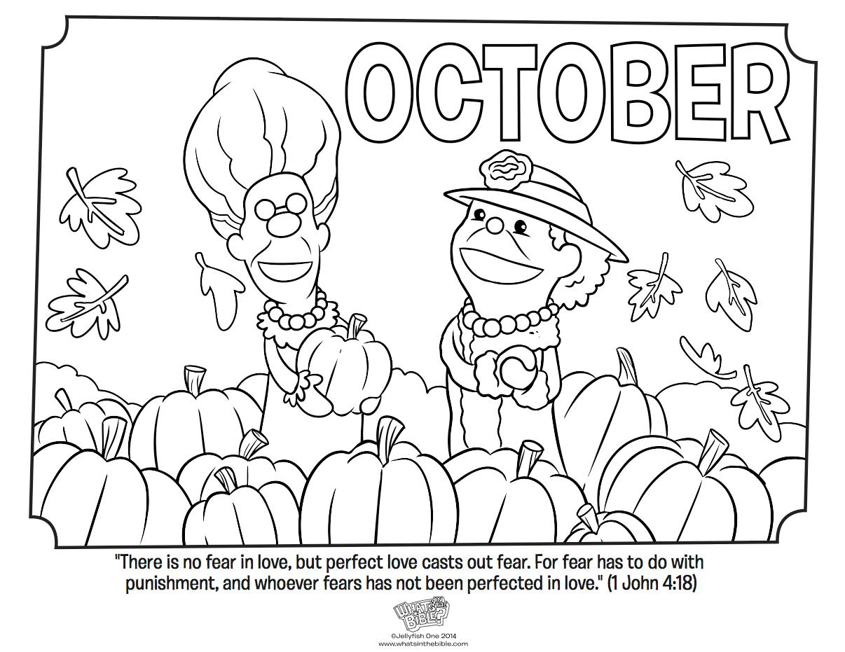 October coloring #13, Download drawings