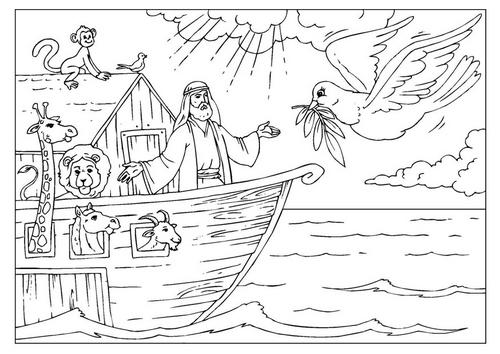 Noah Legend coloring #9, Download drawings