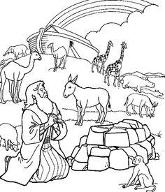 Noah Legend coloring #20, Download drawings