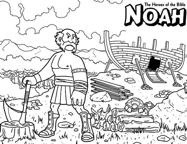 Noah Legend coloring #1, Download drawings