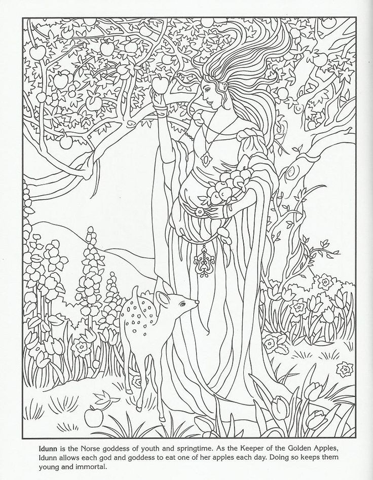 Norse Mythology coloring #11, Download drawings
