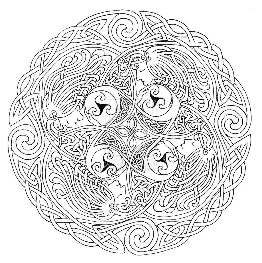 Norse coloring download norse coloring for Norse mythology coloring pages