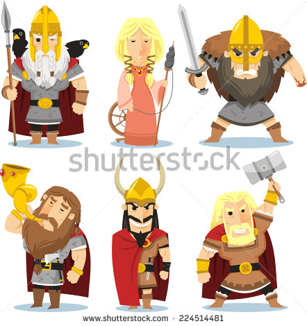 Norse Mythology clipart #3, Download drawings