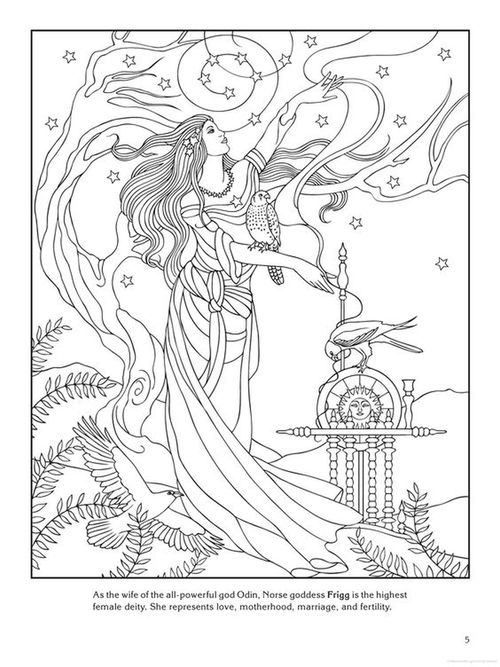 Norse Mythology coloring #6, Download drawings