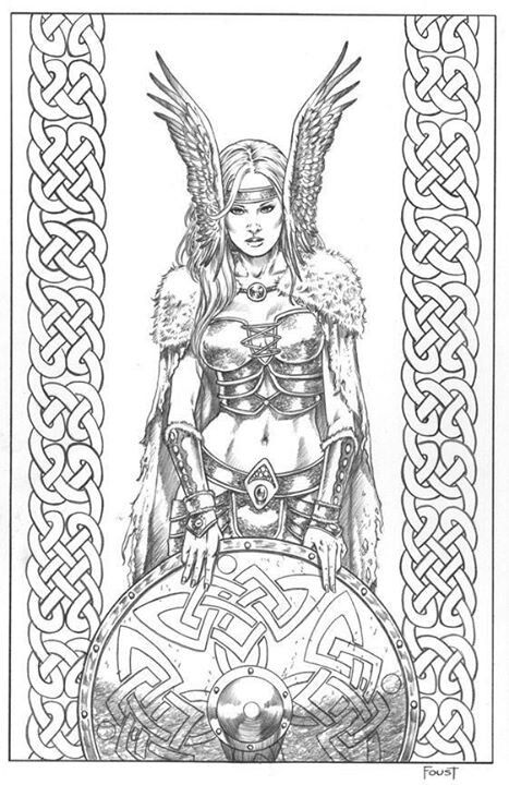 Norse Mythology coloring #18, Download drawings