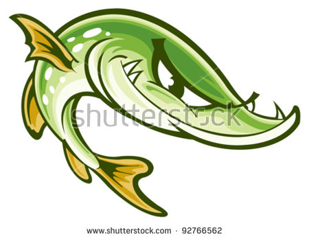 Northern Pike clipart #19, Download drawings
