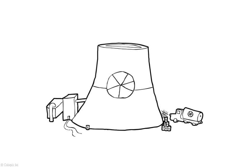 Nuclear coloring #19, Download drawings