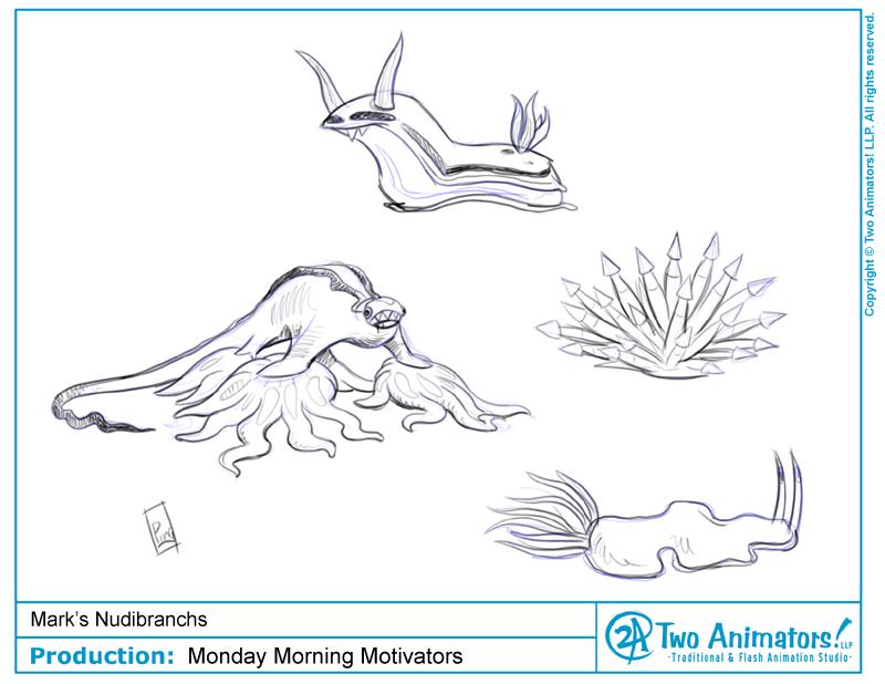 Nudibranch coloring #10, Download drawings