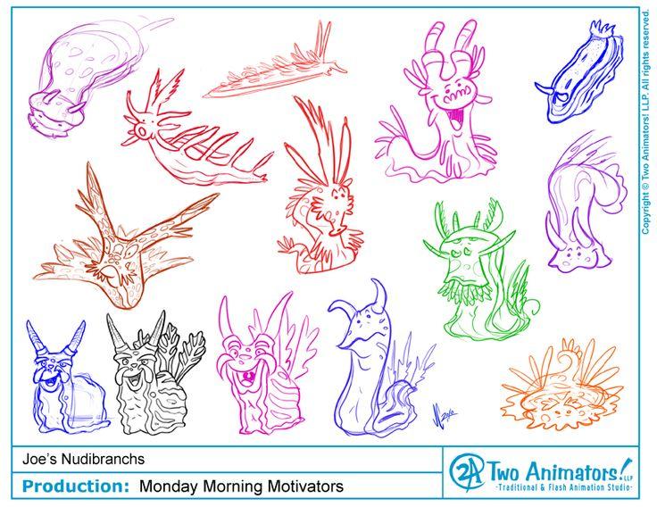 Nudibranch coloring #2, Download drawings
