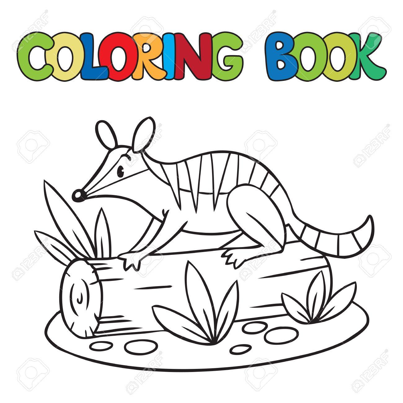 Numbat coloring #9, Download drawings