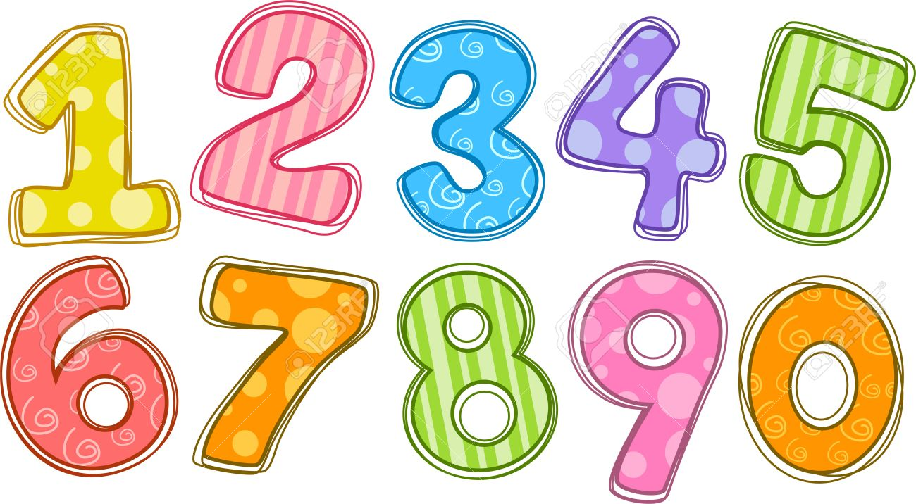 Numbers clipart #14, Download drawings