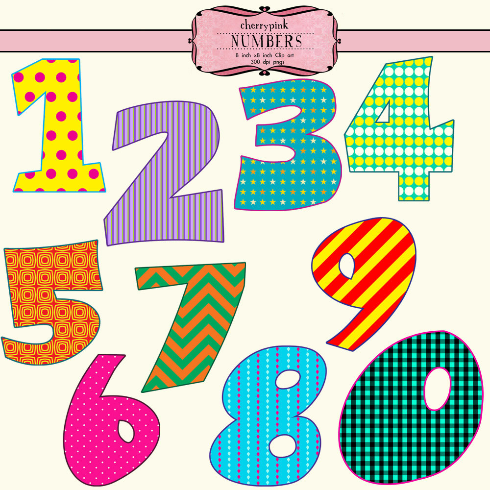 Number clipart #9, Download drawings