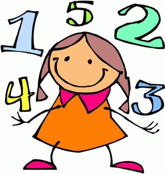 Number clipart #6, Download drawings